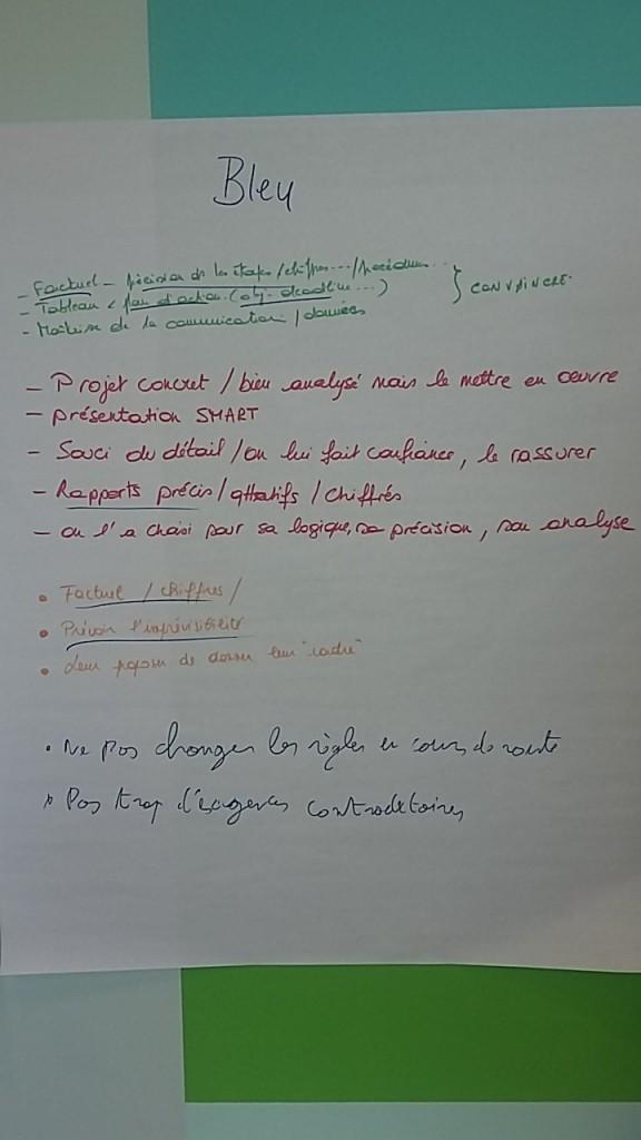Insights - comment convaincre un bleu